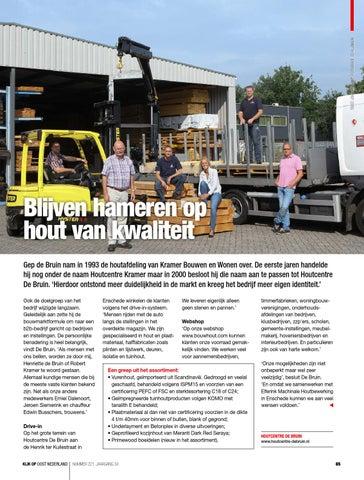 De Bruin Hout.Kijk Op Oost Nederland September 2015 Nr 221 By Of Bv Issuu