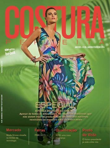 27c7edd660 Revista Costura Perfeita Edição Ano XVII - N89 - Janeiro-Fevereiro ...