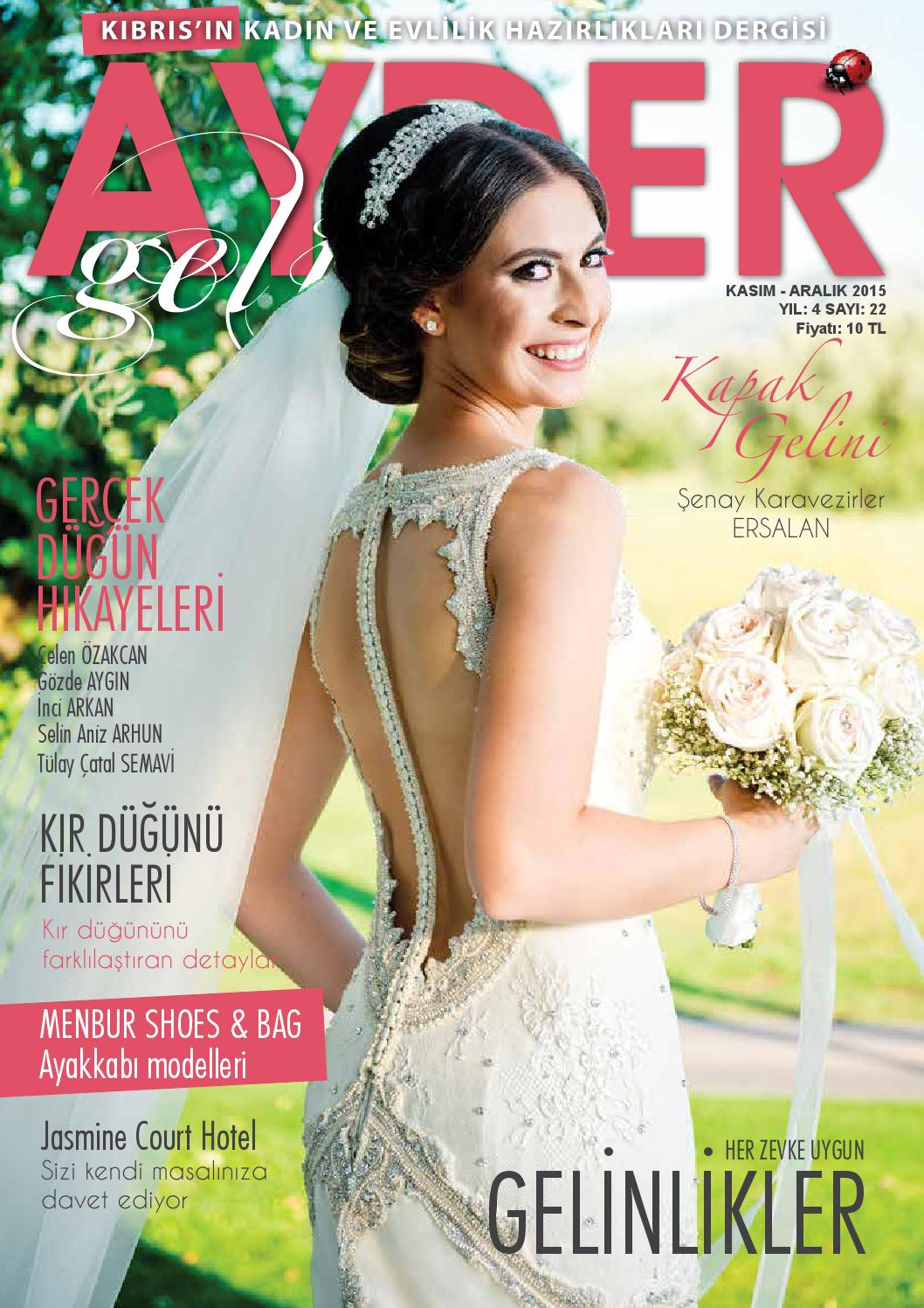3a43204396a87 Ayder Gelin Sayı 22 - N.Cyprus Wedding Magazine by ACM I Abrakadabra  Communication Management - issuu