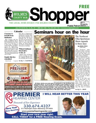 Holmes County Hub Shopper, Jan  9, 2016 by GateHouse Media