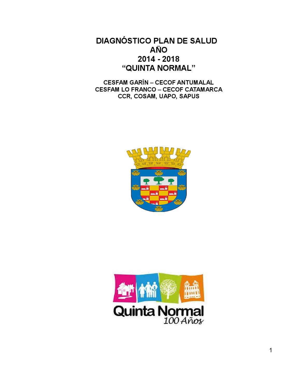 Calendario Escolar 2020 19 Aragon.Plan De Salud Comunal 2014 2018 V 2 By Cesfamlofranco Issuu