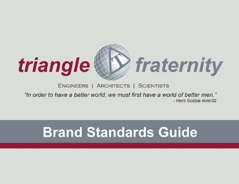 d53669984 Triangle Fraternity Brand Standards by kent.hoffman - issuu
