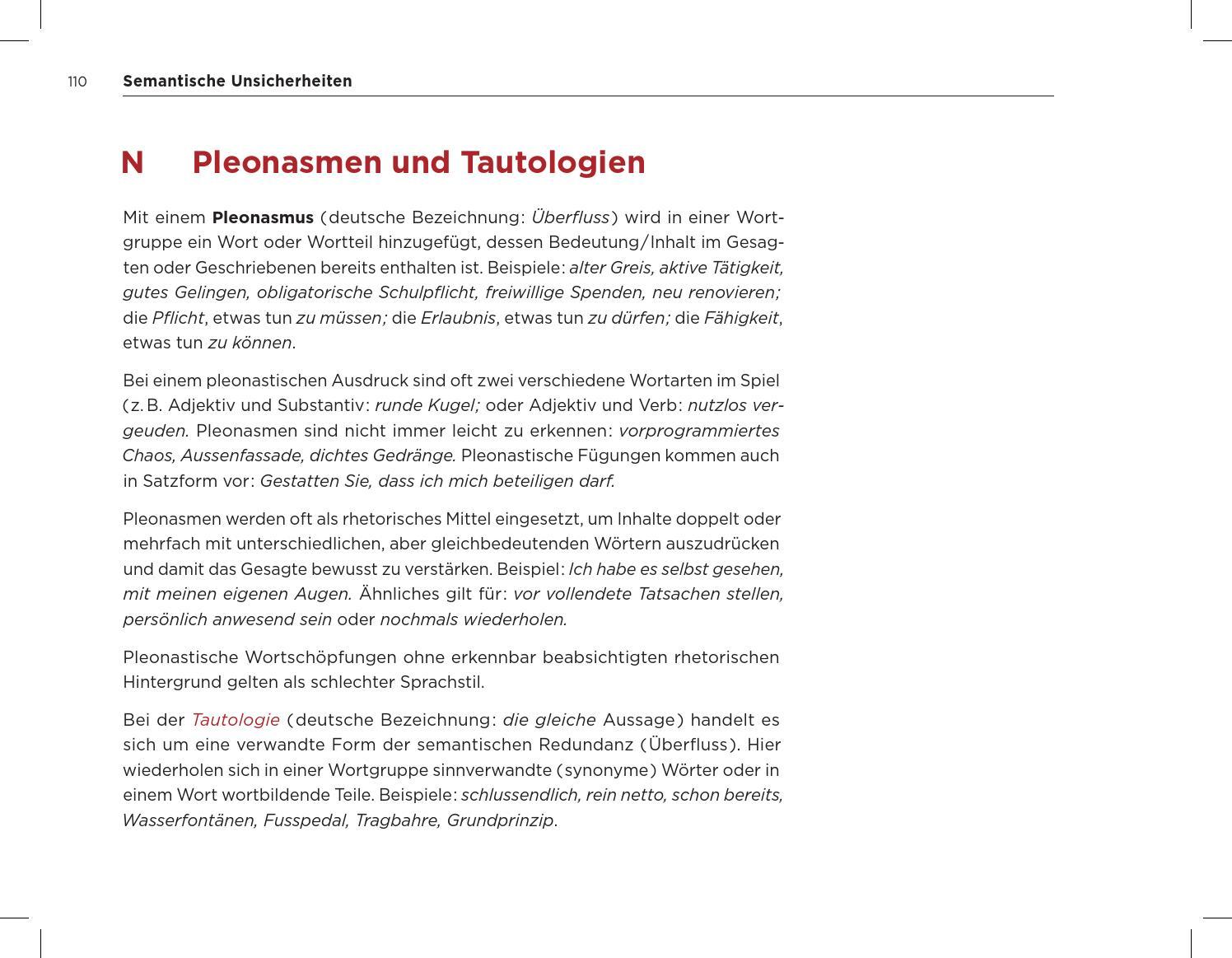 Pleonasmus 3 Wirkungen 20 Beispiele Fur Das 4