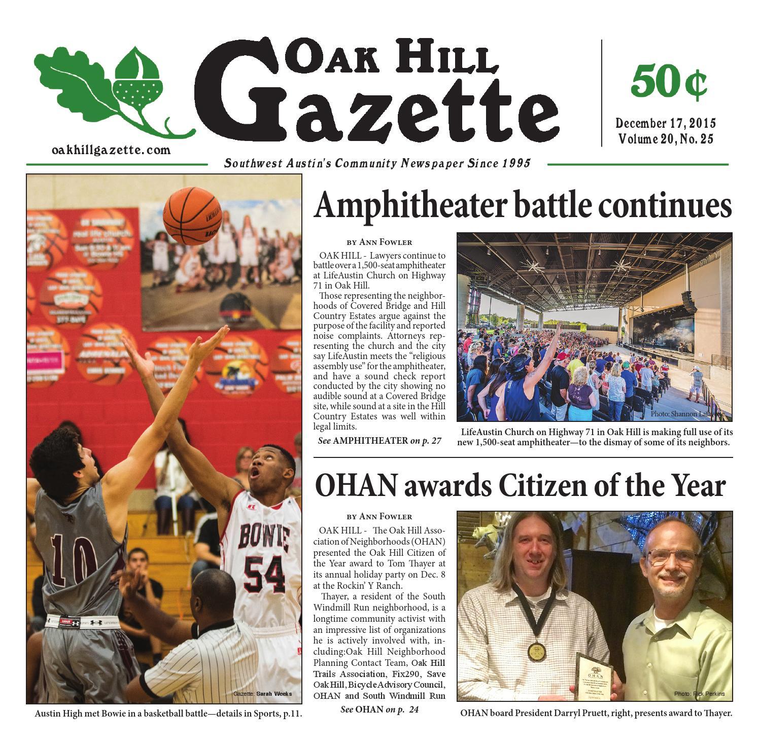December 17th by Oak Hill Gazette - issuu