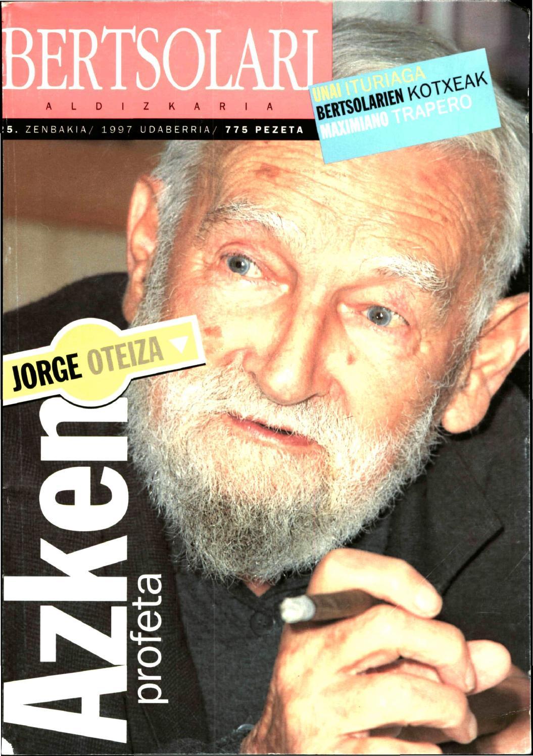 By Bertsolari Egunea 25Zenbakia Issuu Aldizkaria gmIf6Y7byv