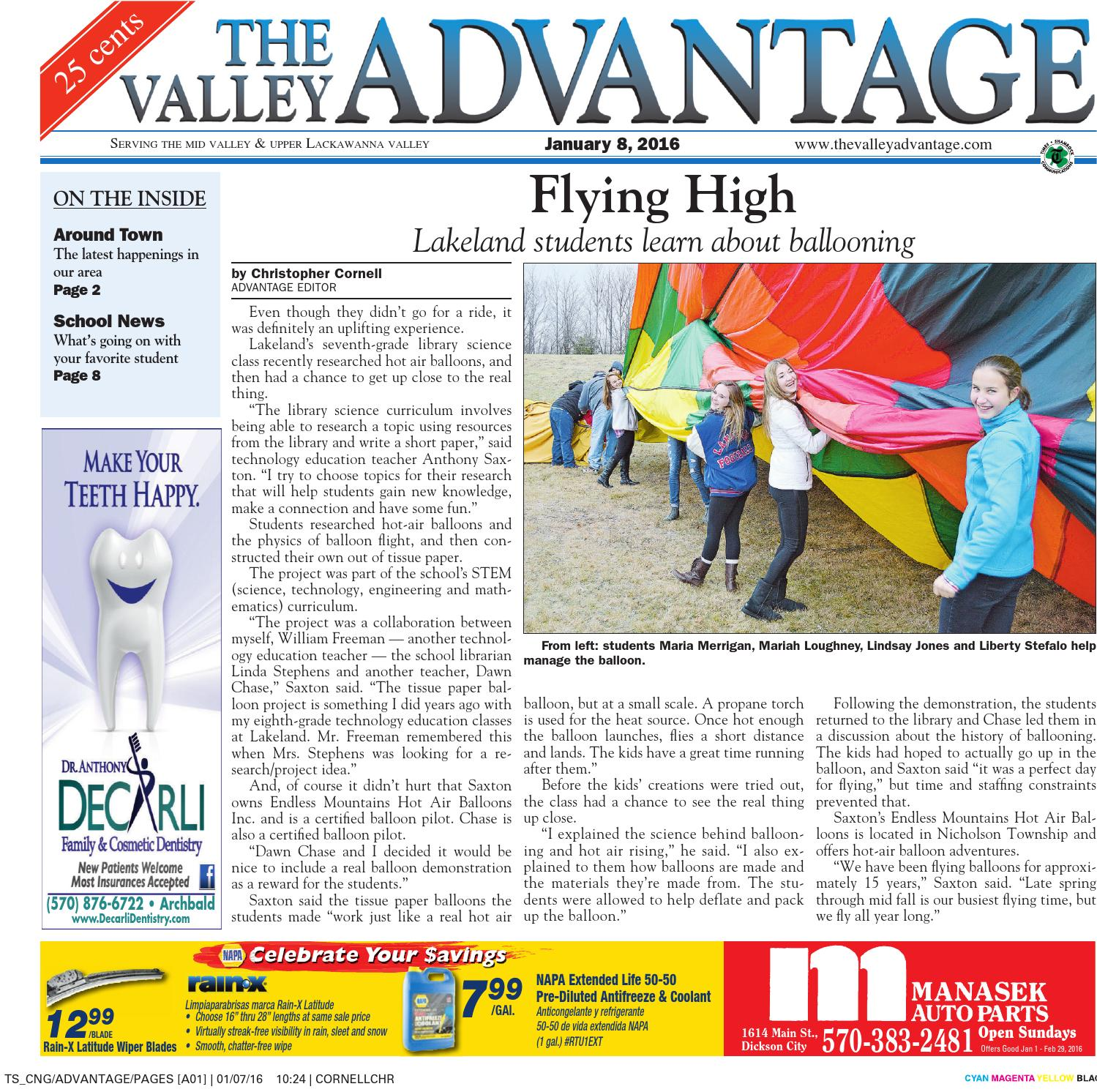 The Valley Advantage--01-15-16 by CNG Newspaper Group - issuu