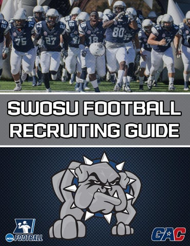 2016 swosu football recruiting guide by doug self issuu