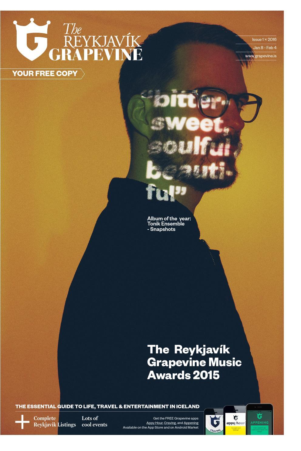 Reykjavik Grapevine, issue 01, 2016 by Reykjavík Grapevine - issuu