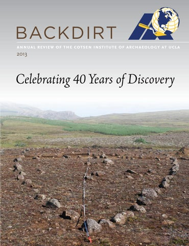 Backdirt 2013 by Cotsen Institute of Archaeology Press - issuu