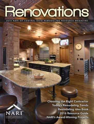 2016 NARI of Central Ohio Remodeling Resource Magazine by CityScene ...