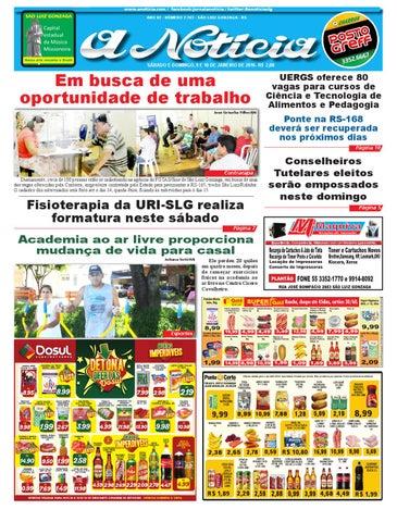 0f99c14dc25 Edição de 9 e 10 de janeiro de 2016 by Jornal A Notícia - issuu