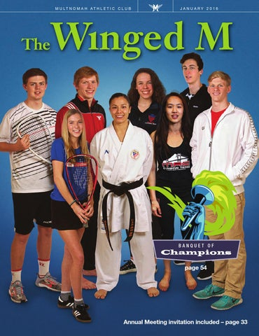 The winged m january 2016 by multnomah athletic club issuu page 1 stopboris Image collections