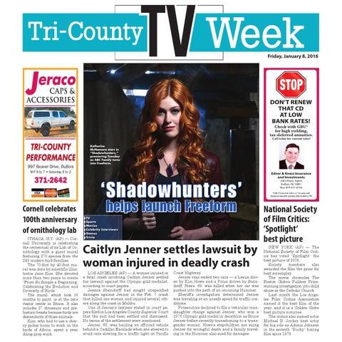 Ce Tv Week 01 08 16 By Tri County Tv Week Issuu