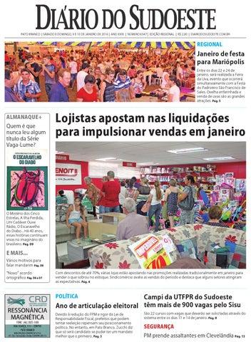 ac3ff06684 Diário do sudoeste 9 e 10 de janeiro de 2016 ed 6547 by Diário do ...