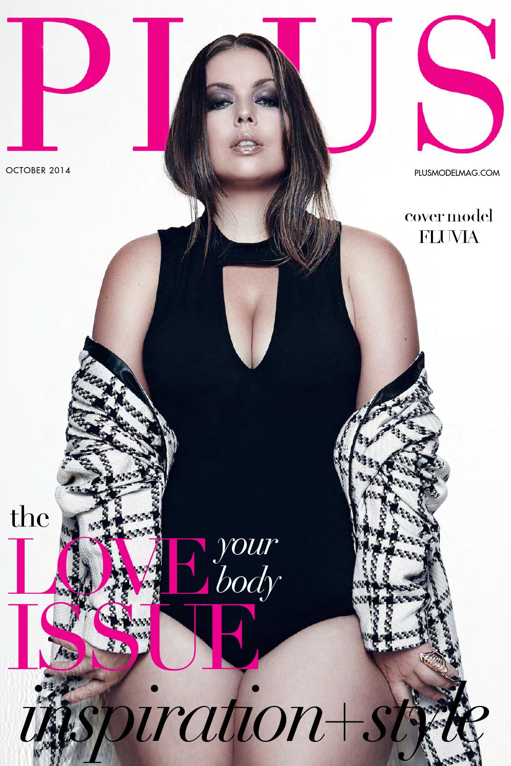 Plus Model Magazine October 2014 Issue By Plus Model