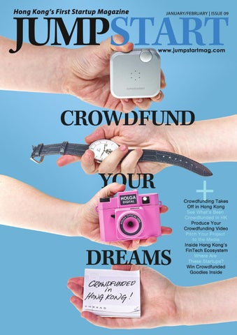 STARTUP MAGAZINE: Jumpstart Issue 9 (January/February 2016) Hong Kong