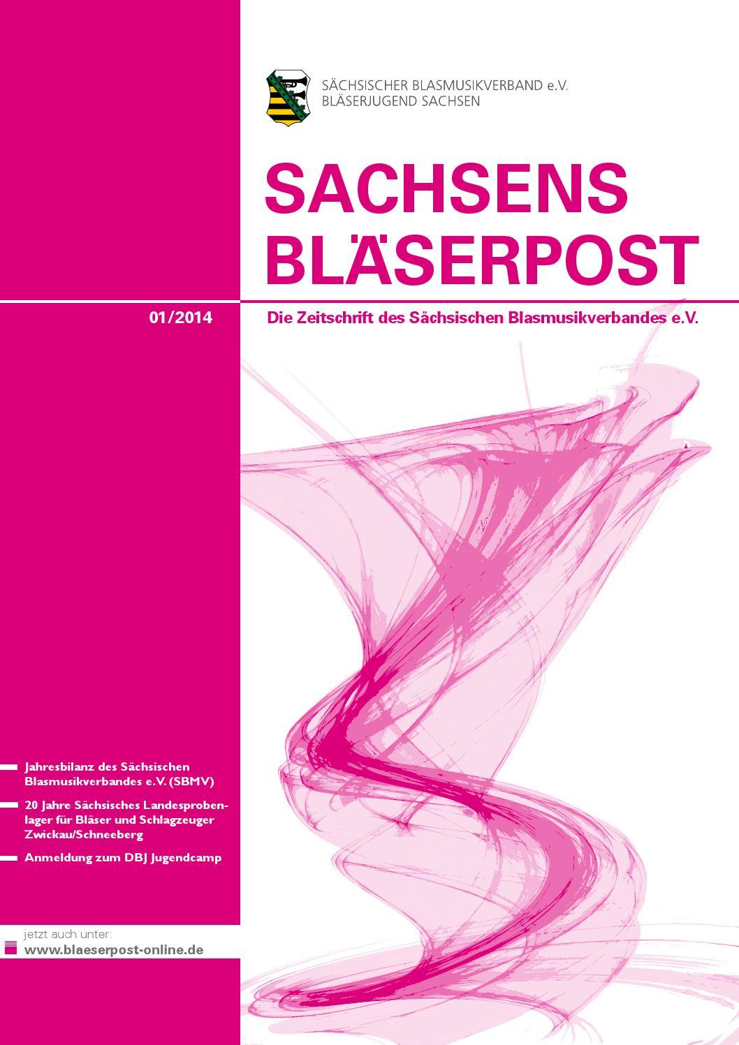 v 01 By Sächsischer Blasmusikverband Ausg Komplett E Bp 14 PTZOiukX