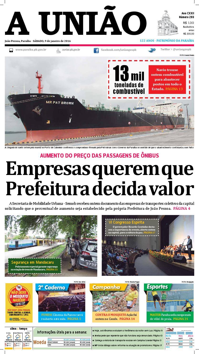 Jornal A União 09 01 16 by Jornal A União - issuu a9c2a056eda52