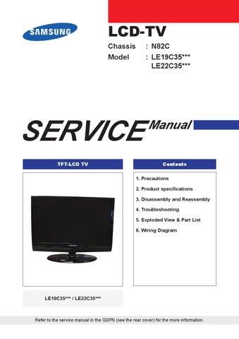 A157 samsung manual for tv