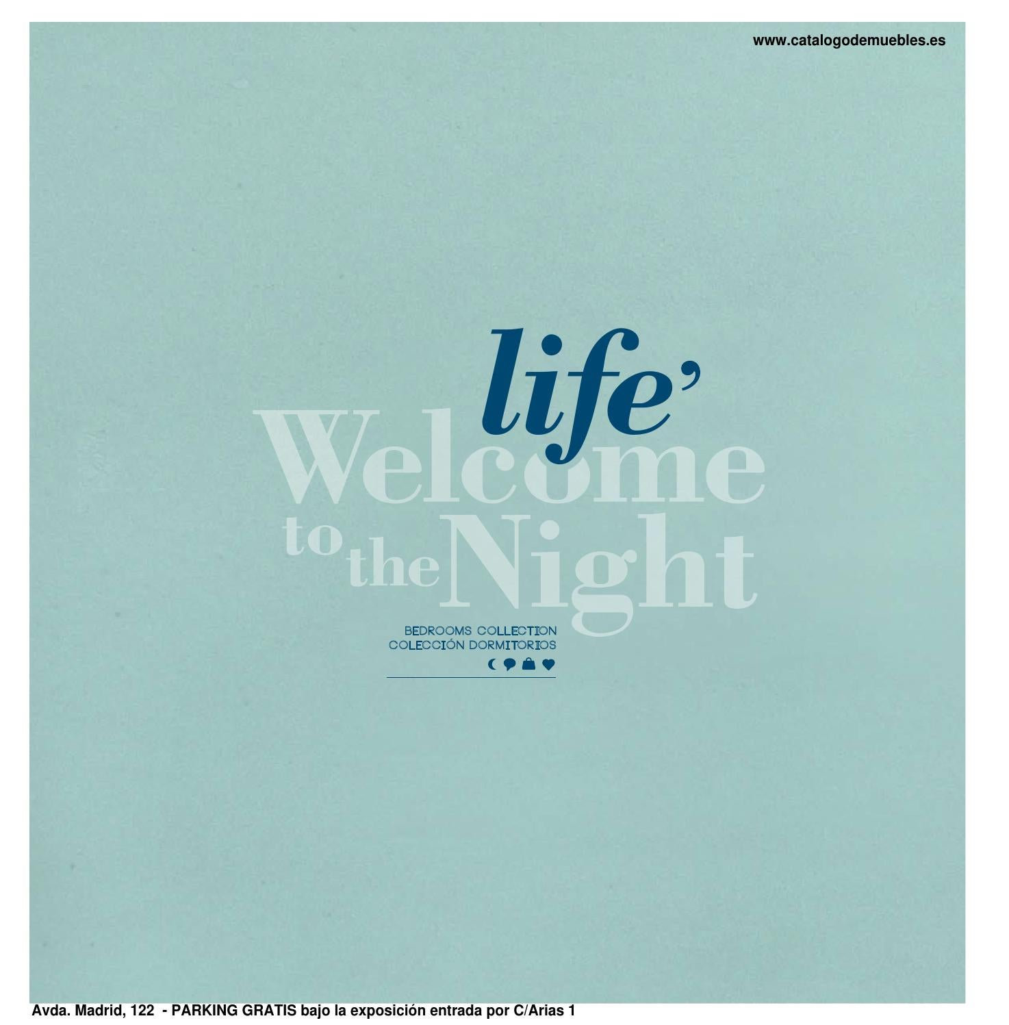 Cat logo dormitorio matrimonio moderno colecci n life by - Novedades delicias ...