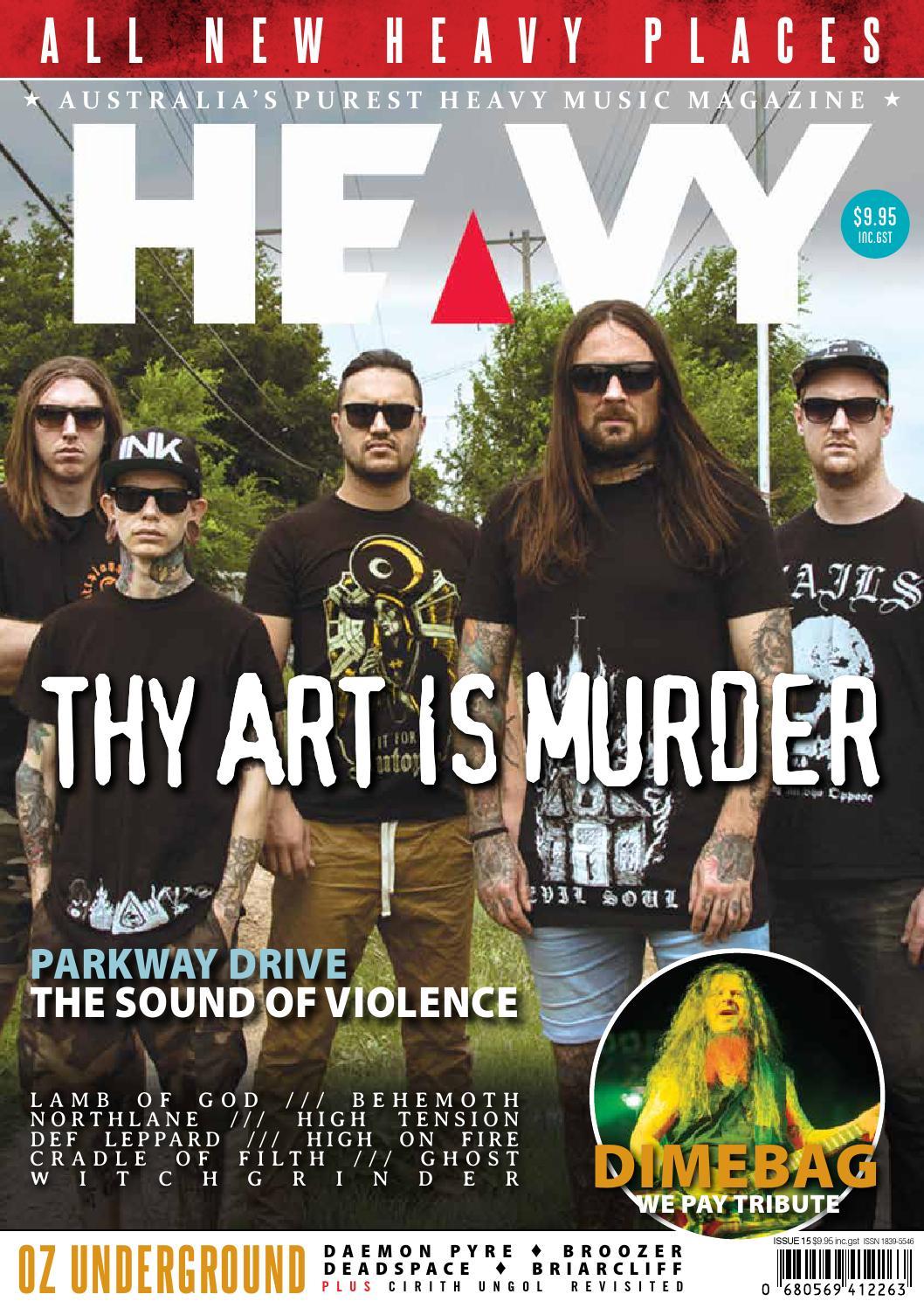 37cdea4245 Heavy Music Magazine Issue  15 by HEAVY Music Magazine - issuu