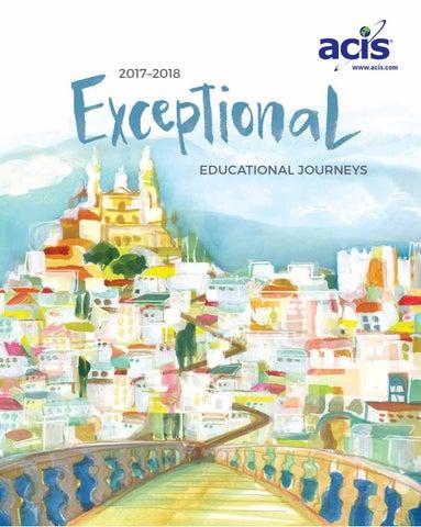 The Acis Educational Tours 2017 2018 Catalog By Acis Issuu