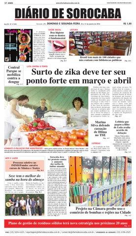 Edição de 10 de janeiro de 2016 by DIÁRIO DE SOROCABA - issuu 7d105c3070e82