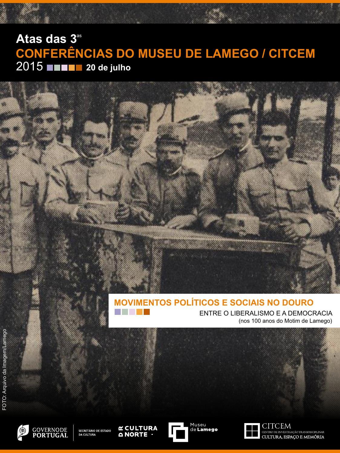 Atas das 3ªs Conferências do Museu de Lamego CITCEM by Museu de Lamego -  issuu fdb83804299a1