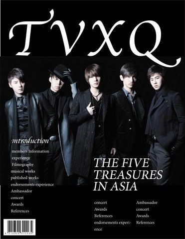 TVXQ by 陳品萱 - issuu