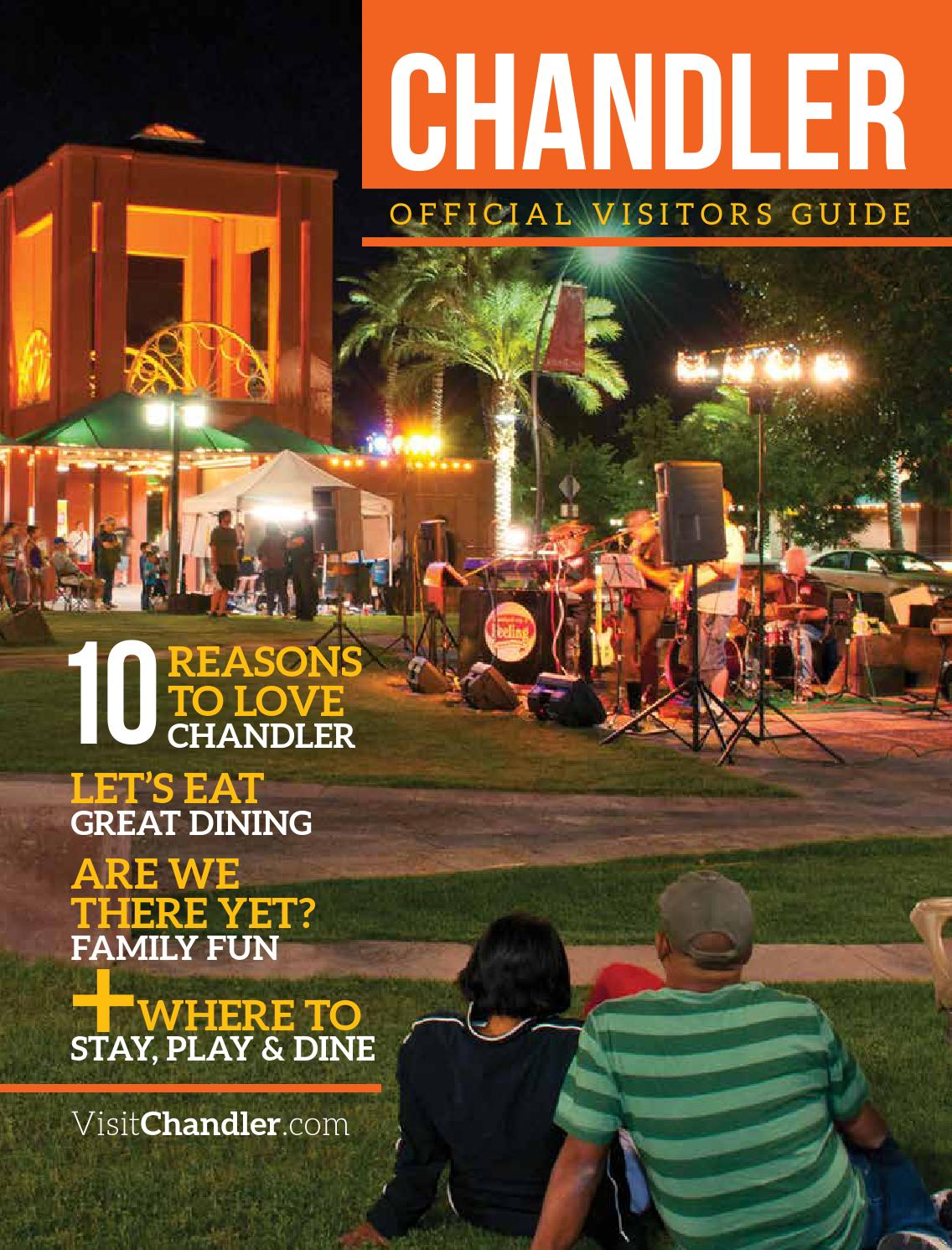 Chandler Arizona Visitors Guide by Publication Layout - issuu