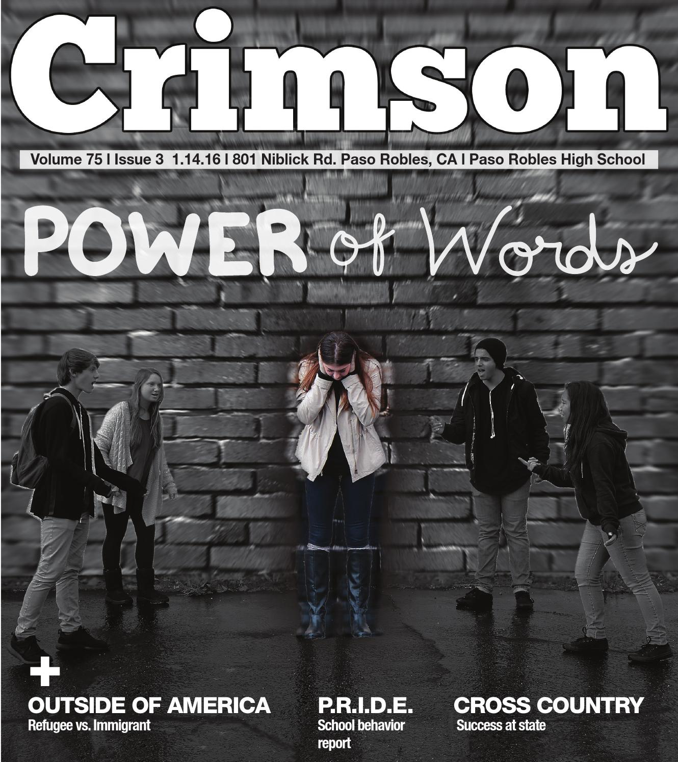 2016 January Issue by Crimson Newsmagazine - issuu