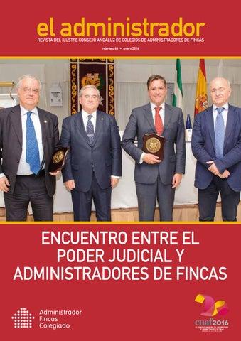Eladministrador n 66 enero 2016 by ibersponsor - Colegio de administradores de fincas de barcelona ...