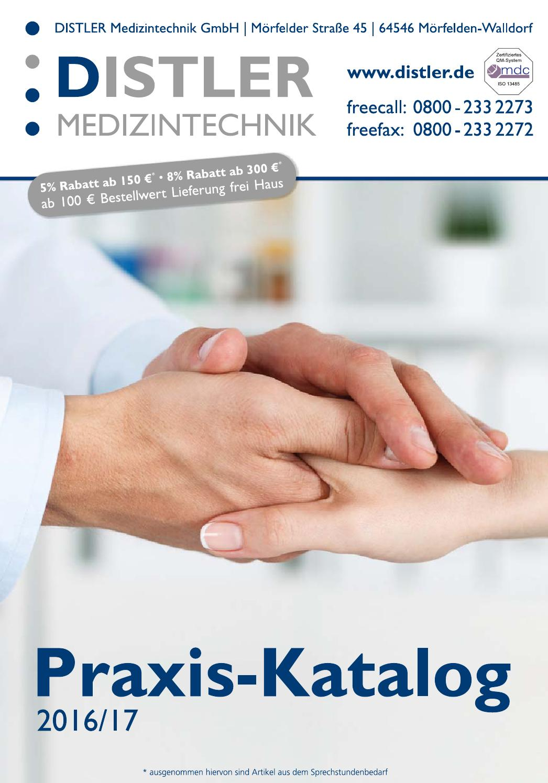 Praxis Katalog 2016 2017 By Distler Medizintechnik Gmbh Issuu Hansaplast Isi 100