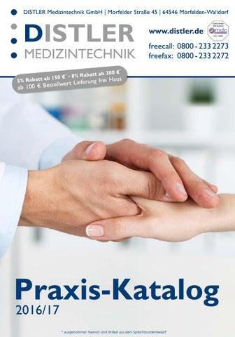 Praxis-Katalog 2016   2017 by DISTLER Medizintechnik GmbH - issuu 5928229895