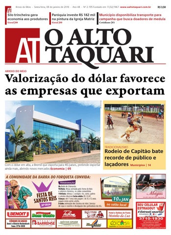Jornal O Alto Taquari - 08 de janeiro de 2016 by Jornal O Alto ... 797710808b302