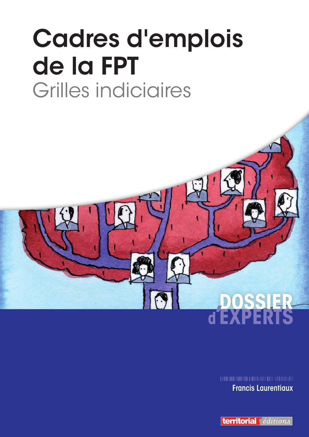 Cadres d emplois de la fpt grilles indiciaires by infopro - Grilles indiciaires fonction publique territoriale ...