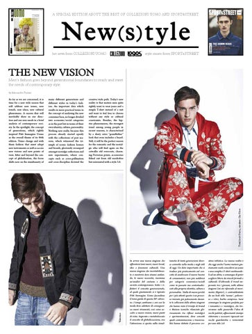The Best of - Collezioni Sport&Street and Uomo #ss2016