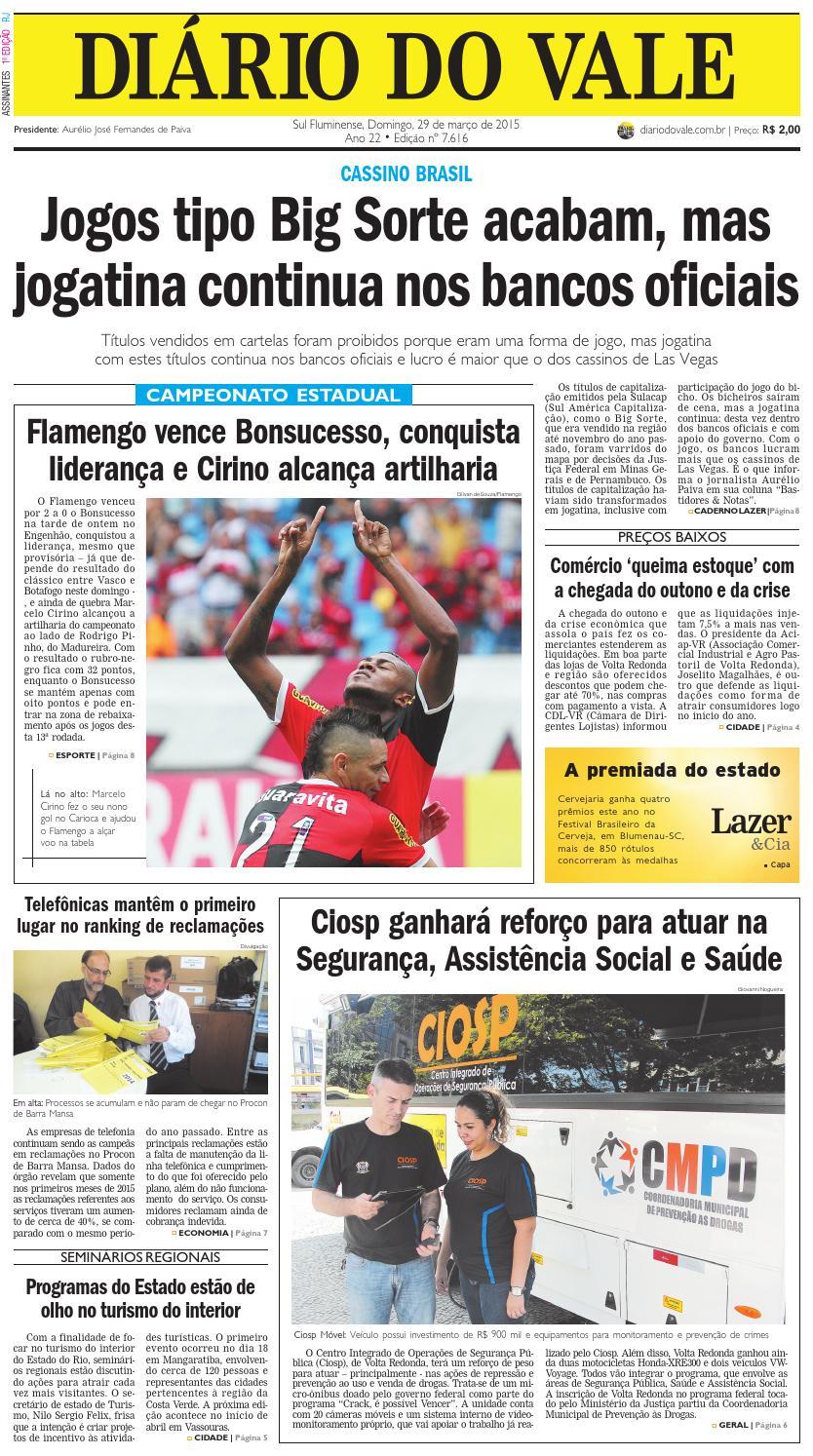 7616 diario domingo 29 03 2015 by Diário do Vale - issuu c7ceefb78ffd9