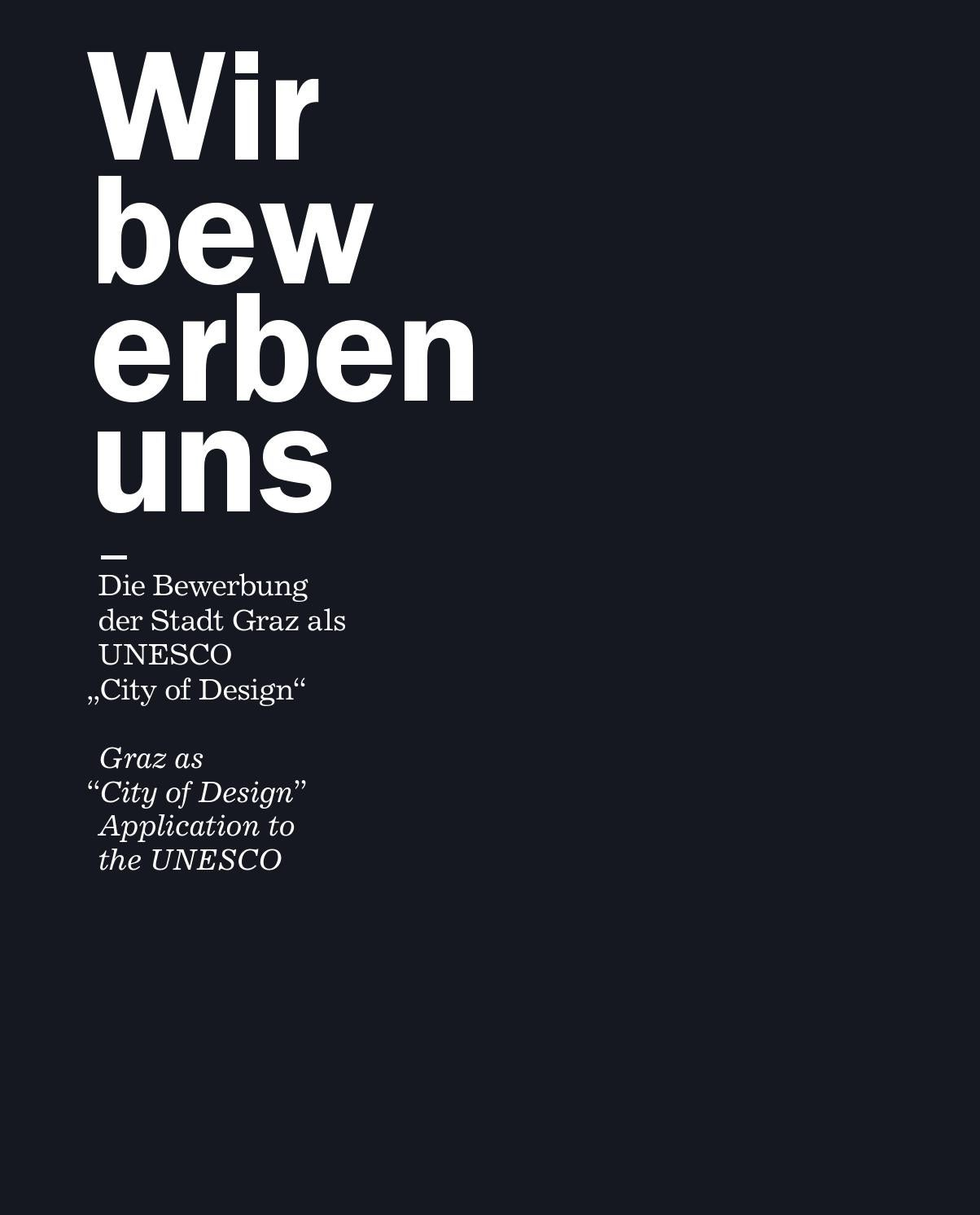 Graz UNESCO City of Design application (2010) pictures by Creative  Industries Styria - issuu