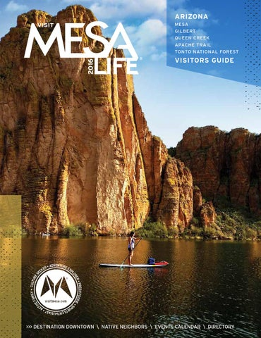 Mesa Visitors Guide By Publication Layout Issuu