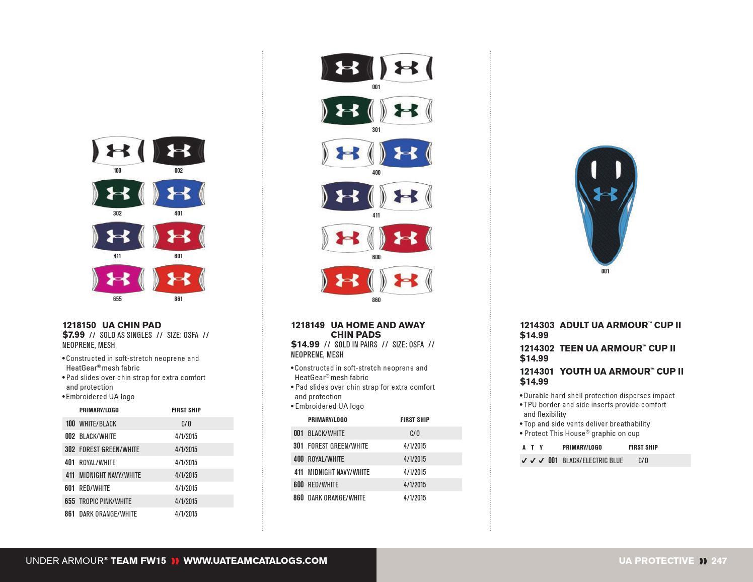 4f188826a Under Armour 2015 Fall Winter Team Gear by SquadLocker - issuu