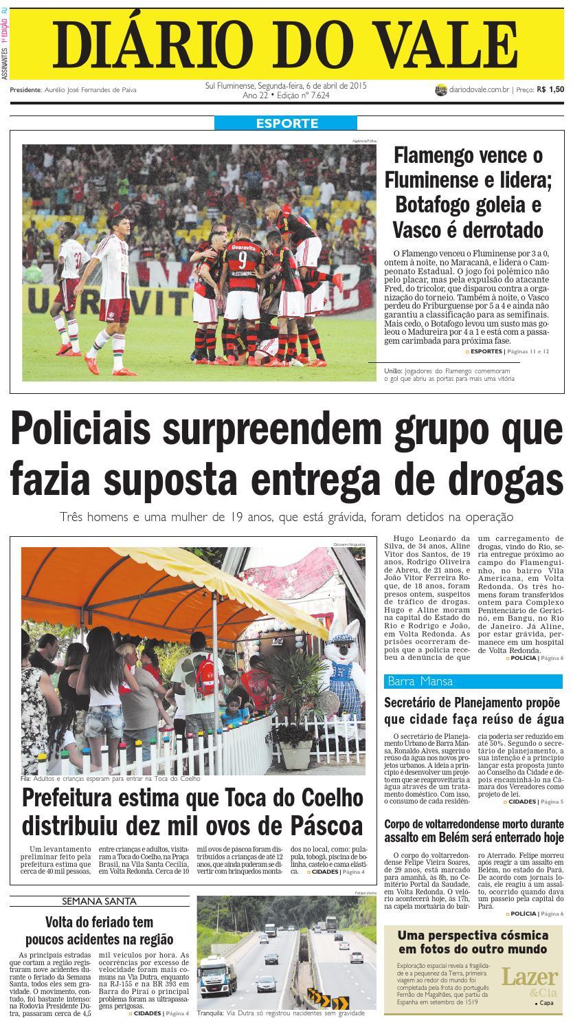 3c68fc30e4 7624 diario do vale segunda feira 06 04 2015 by Diário do Vale - issuu