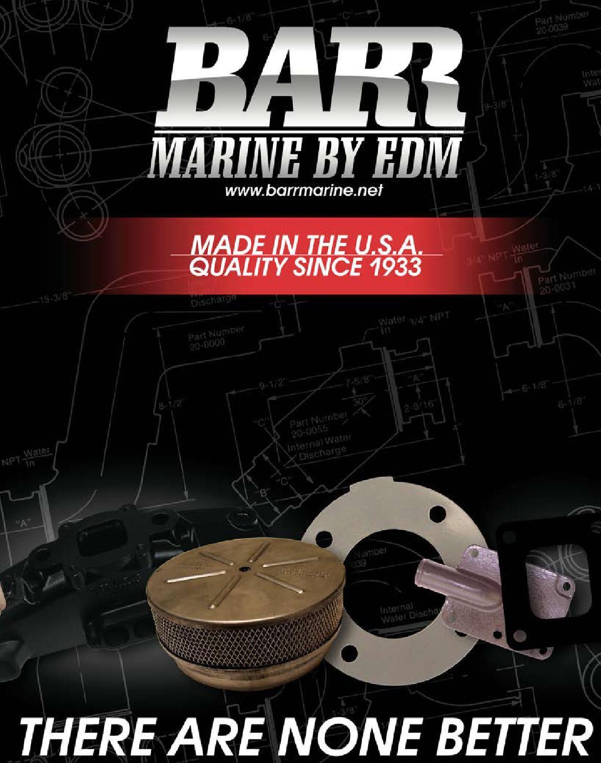 Barr Marine CM-1-6672E Copper Water Distribution Tube