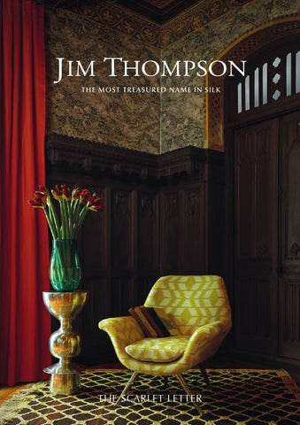 Jim Thompson Wallpaper Brochure