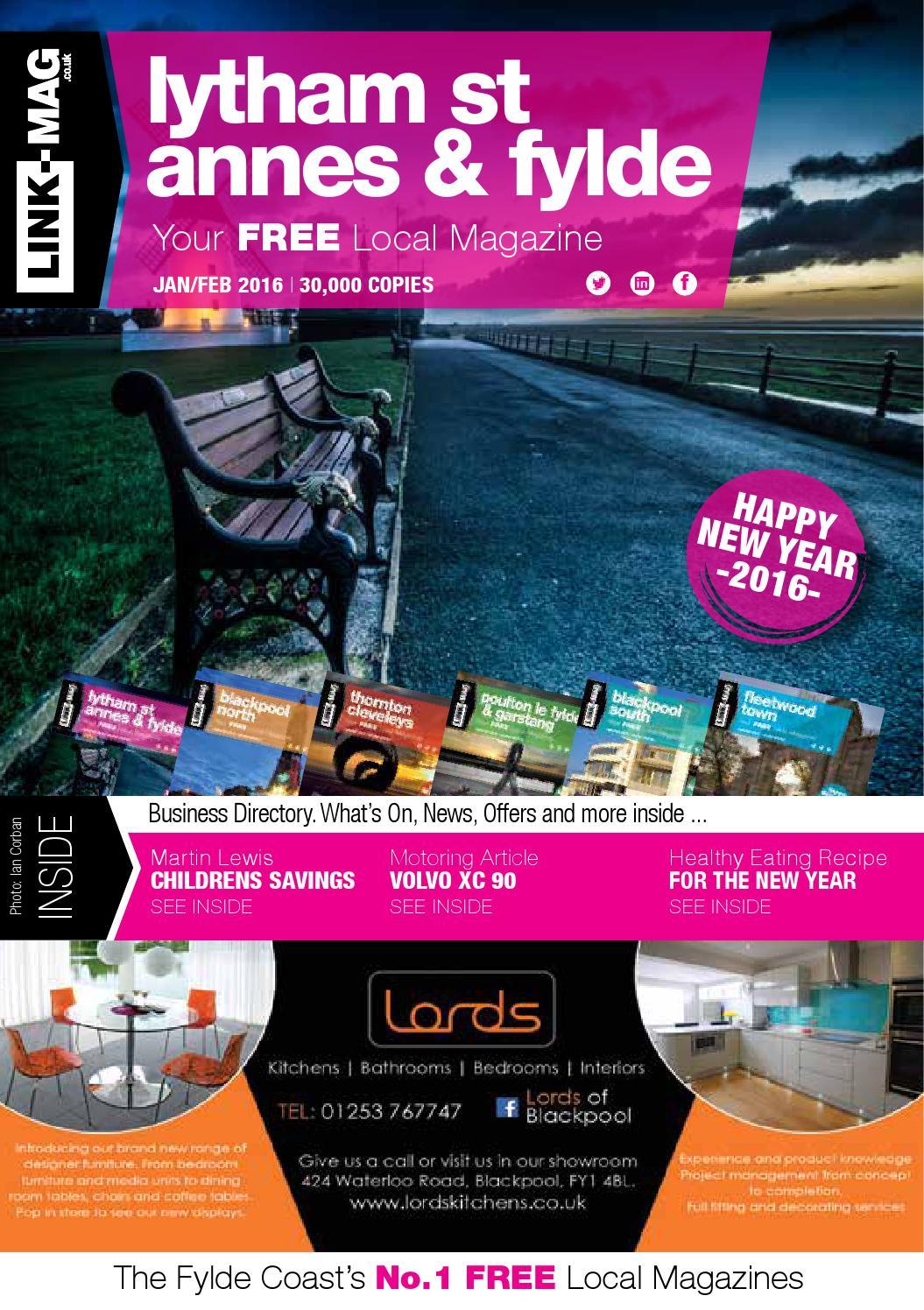 Lytham St Annes Amp Fylde Magazine Jan Feb 2016 By Link Mag