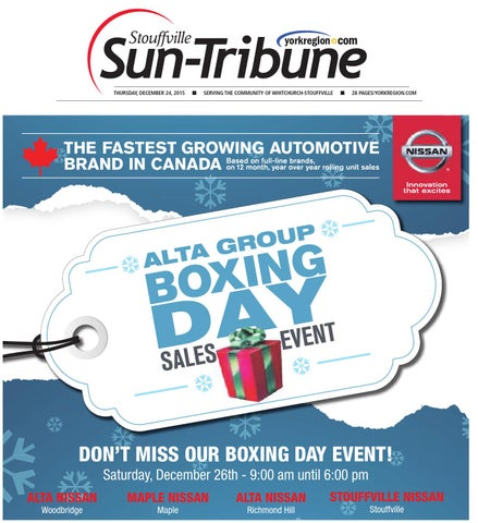 cb935c6a18a Stouffville Sun December 24 by Stouffville Sun-Tribune - issuu