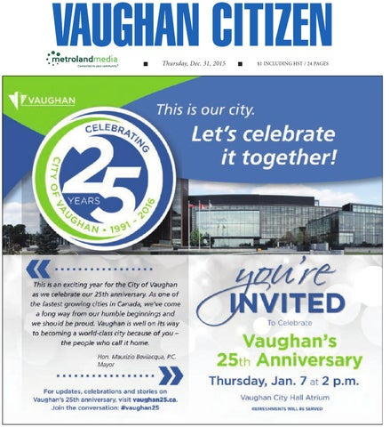 34a56167ce3 Vaughan Citizen December 31 by Vaughan Citizen - issuu