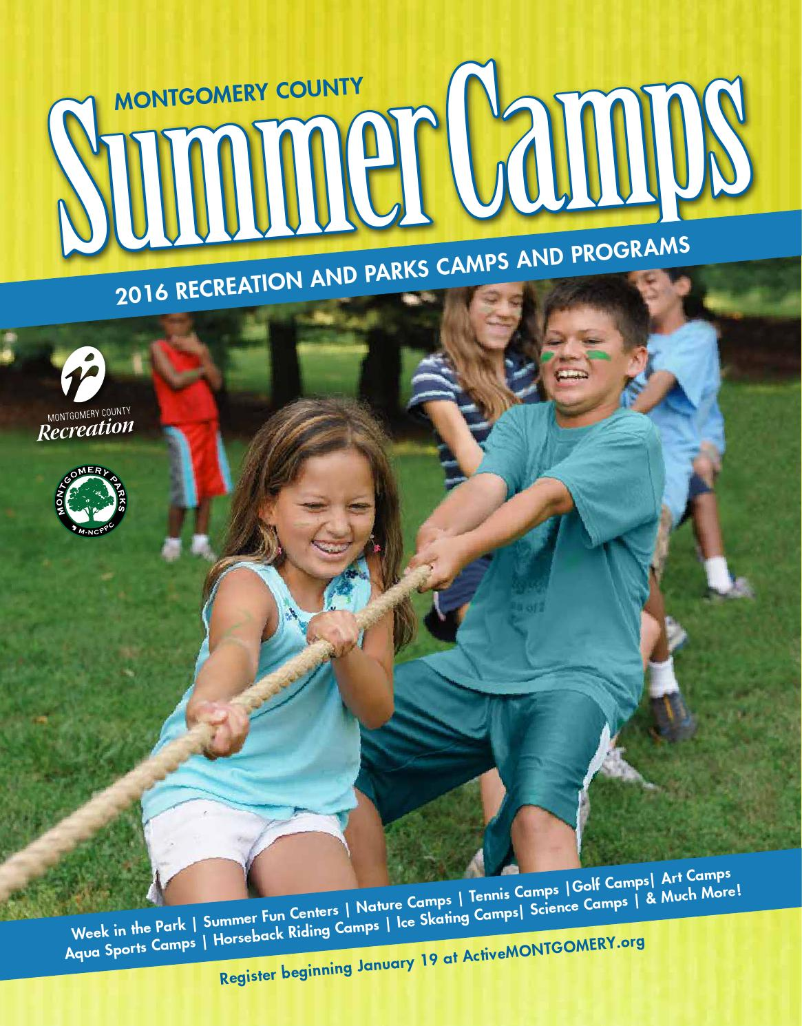 Summer Camps 2016 Guide by Montgomery County Recreation issuu