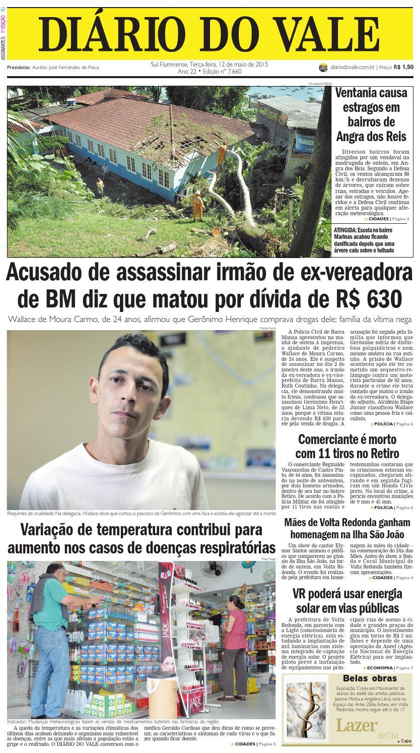 32751af61 7660 diario terca feira 12 05 2015 by Diário do Vale - issuu