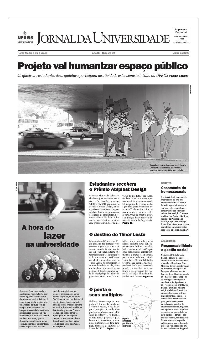 Jornal da Universidade by Universidade Federal do Rio Grande do Sul - issuu 5c4fd829b744a